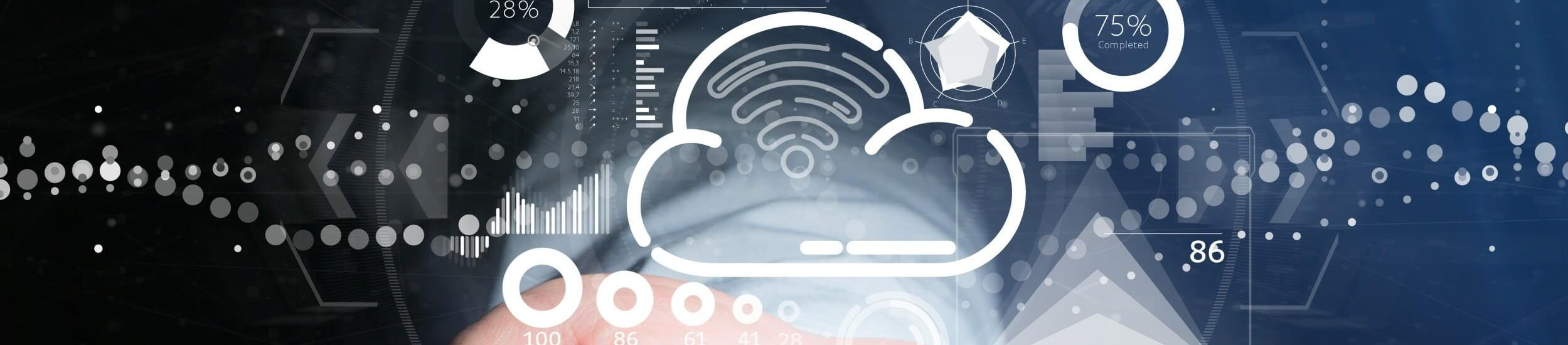 businessman-holding-cloud-wifi-concept-with-icon-stats-data-3d-rendering
